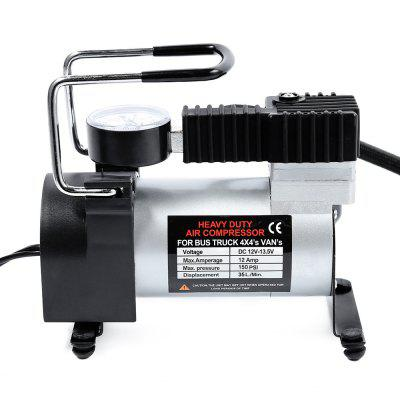 12V Car Electric Inflator Pump Single-cylinder Air Compressor with Tyre Pressure Monitor