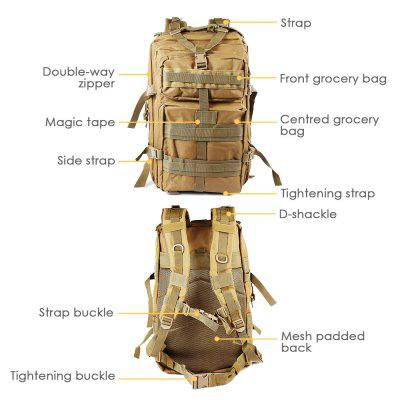 45L Military Tactical Army Backpack for CampingArm Bags<br>45L Military Tactical Army Backpack for Camping<br><br>Package Contents: 1 x Backpack<br>Package Size(L x W x H): 52.00 x 32.00 x 15.00 cm / 20.47 x 12.6 x 5.91 inches<br>Package weight: 1.3700 kg<br>Product weight: 1.3000 kg