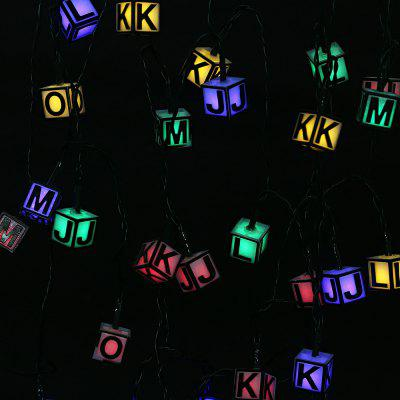 Waterproof Solar Powered Letter String Lamp Christmas DecorOutdoor Lights<br>Waterproof Solar Powered Letter String Lamp Christmas Decor<br><br>Is Bulbs Included: Yes<br>Is Dimmable: No<br>Light Source: LED Bulbs<br>Package Contents: 1 x String Lamp with Solar Panel, 1 x Anchor Spike, 1 x English Manual<br>Package Size(L x W x H): 18.50 x 10.00 x 8.50 cm / 7.28 x 3.94 x 3.35 inches<br>Package weight: 0.4180 kg<br>Product weight: 0.3140 kg<br>Style: Art Deco, Modern