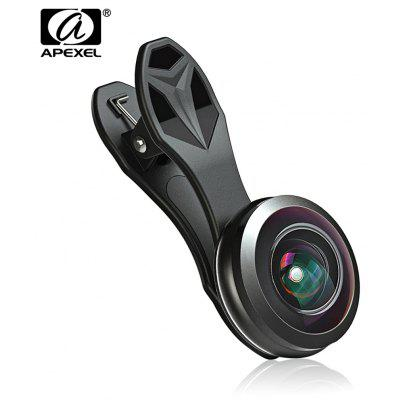 APEXEL APL - 238F 238 Degree Fisheye Lens External Mobile Phone Camera with Universal Clip