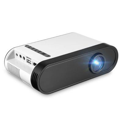 MG20 LCD Portable Projectorprojectors<br>MG20 LCD Portable Projector<br><br>3D: No<br>Aspect Ratio: 16:9 / 4:3<br>Audio Formats: WMA,  OGG,  ACC,  WAV,  ASF, MP3<br>Bluetooth: Unsupport<br>Brightness: 600 Lumens<br>Built-in Speaker: Yes<br>Compatible with: Sony PS4, TV, Mobile phone, Computer, Xbox<br>Contrast Ratio: 800:1<br>Display type: LCD<br>DVB-T Supported: Yes<br>External Subtitle Supported: No<br>Function: DVB-T<br>Image Scale: 16:9,4:3<br>Image Size: 23 - 90 inch<br>Interface: 3.5mm Audio, AV, HDMI, TF Card Slot, USB, DC<br>Lamp: LED<br>Lamp Life: 50,000 hours<br>Lamp Power: 20W<br>Model: MG20<br>Native Resolution: 320 x 240<br>Noise (dB): 30<br>Package Contents: 1 x MG20 Mini LCD Projector, 1 x Remote Controller, 1 x AV Signal Cable, 1 x Charger Adapter, 1 x English User Manual<br>Package size (L x W x H): 30.00 x 17.00 x 9.00 cm / 11.81 x 6.69 x 3.54 inches<br>Package weight: 1.0640 kg<br>Picture Formats: JPG,  BMP,  PNG<br>Power Supply: 100-240V<br>Product size (L x W x H): 17.80 x 10.30 x 5.00 cm / 7.01 x 4.06 x 1.97 inches<br>Product weight: 0.5420 kg<br>Projection Distance: 0.79 - 3m<br>Resolution Support: 1920 x 1080<br>Throw Ration: 1.65<br>Tripod Height: not included<br>Video Formats: H.264 ) / MKV ( XVID,  H.264 ) / FLV ( FLV1 ) / MOV ( H.264 ) / MP4 ( MPEG4, 3GP ( H.263,  DIVX,  DIVX,  MPEG4 ) / AVI ( XVID,  AVC ) / MPG ( MPEG1 ) / VOB ( MPEG2 ) / RMVB ( R40 )