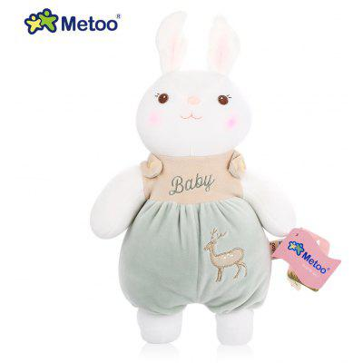 Metoo Tiramitu Rabbit Northern Europe Style Stuffed Plush Doll Comforter Toy Birthday Christmas Gift