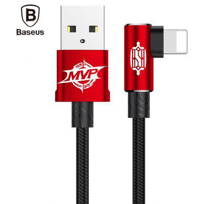Baseus MVP Elbow Type 8 Pin 2A Charging Data Sync Cable 1M
