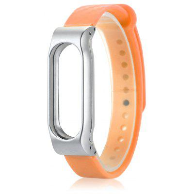 14mm TPE Strap for Xiaomi Mi Band 2 Snap-on Back