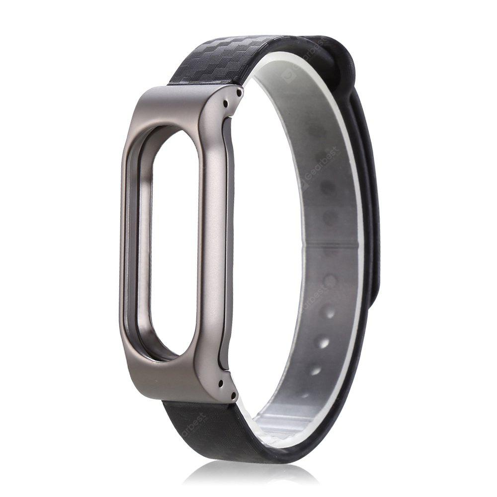 Bracelet TPE 14mm Pour Xiaomi Mi Band 2 Snap-on Back