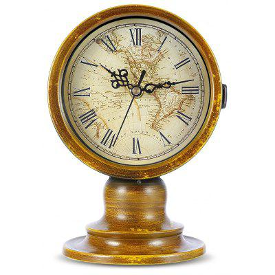 ... Double Sided European Retro Style Decorative Table Clock ...