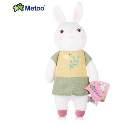 Metoo Tiramitu Rabbit Fetish Style Stuffed Plush Doll Comforter Toy Birthday Christmas Gift 11 inch