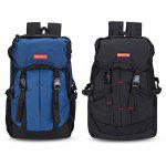 Guapabien Outdoor Travel Backpack Camping Climbing Bag - BLACK