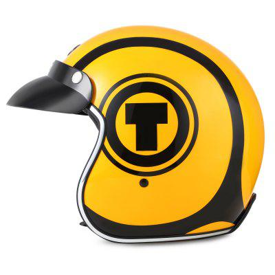 TORC T - 57 Motorcycle Helmet with VisorMotorcycle Helmets<br>TORC T - 57 Motorcycle Helmet with Visor<br><br>Gender: Unisex<br>Helmet Material: ABS<br>Helmet Style: Open Face<br>Package Contents: 1 x Motorcycle Helmet, 1 x English User Manual<br>Package Size(L x W x H): 36.00 x 26.00 x 28.00 cm / 14.17 x 10.24 x 11.02 inches<br>Package weight: 1.5400 kg<br>Product weight: 1.0650 kg