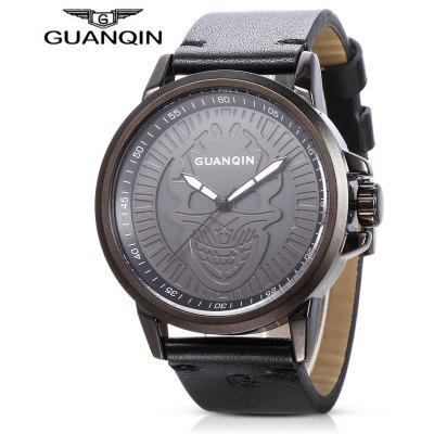 Buy BLACK GUANQIN GS19077 Men Quartz Watch for $27.99 in GearBest store