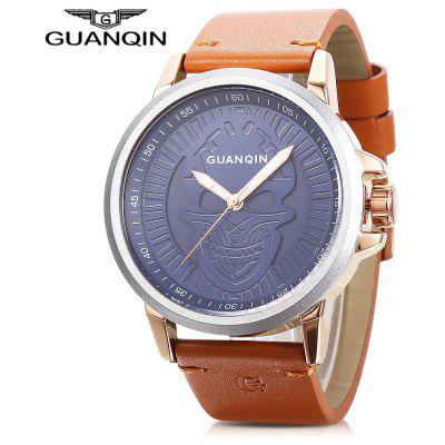Buy BLUE GUANQIN GS19077 Men Quartz Watch for $27.99 in GearBest store