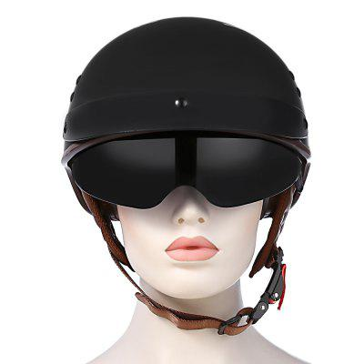 TORC T - 55 Motorcycle HelmetMotorcycle Helmets<br>TORC T - 55 Motorcycle Helmet<br><br>Gender: Unisex<br>Helmet Material: ABS<br>Helmet Style: Open Face<br>Package Contents: 1 x Motorcycle Helmet, 1 x English User Manual<br>Package Size(L x W x H): 36.00 x 26.00 x 28.00 cm / 14.17 x 10.24 x 11.02 inches<br>Package weight: 1.2650 kg<br>Product weight: 0.9050 kg