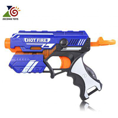 ZECONG TOYS 7036 Hand-actuated Soft Bullet Gun Pistol Long Range Military Model Children Toy
