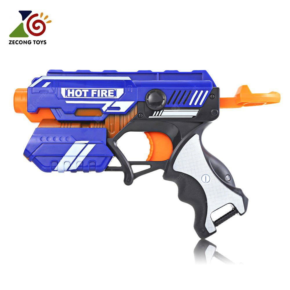 ZECONG TOYS 7036 Soft Bullet Gun Pistol Military Model Toy
