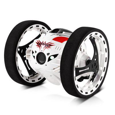 GBlife PEG - 88 2.4GHz Wireless Bounce Car for KidsRC Cars<br>GBlife PEG - 88 2.4GHz Wireless Bounce Car for Kids<br><br>Age Range: 12-15 Years<br>Control Channels: 4 Channels<br>Material: Plastic<br>Package Contents: 1 x Jumping Car, 1 x Remote Control, 1 x USB Cable, 1 x Bilingual User Manual in English and Chinese, 2 x Jumping Glue-cushion<br>Package Size(L x W x H): 20.00 x 15.00 x 14.50 cm / 7.87 x 5.91 x 5.71 inches<br>Package weight: 0.4750 kg<br>Product weight: 0.2240 kg<br>Remote Control: Yes