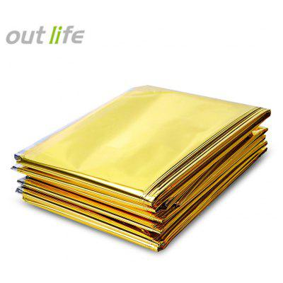 Outlife 210 x 140CM Reflective Emergency Mylar Blanket