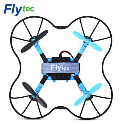 Flytec T11S DIY Building Blocks RC Quadcopter WiFi FPV 30W Camera 2.4G 4CH 6-axis Gyro Altitude Hold Headless Mode 3D Un