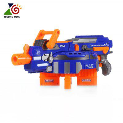 ZECONG TOYS 7032 Electric 48 Soft Bullet Gun Pistol Long Range Military Model Children Toy