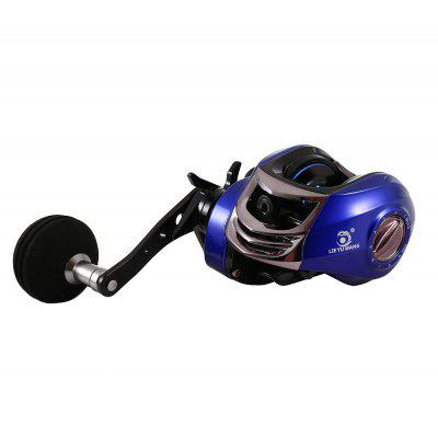 LIE YU WANG 13 + 1BB 6.3 : 1 Fishing Reel Left / Right Single Handle Baitcasting Wheel