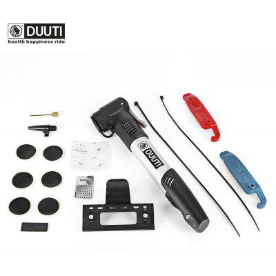 DUUTI Mountain Bike Pump Glueless Tire Repairing Set