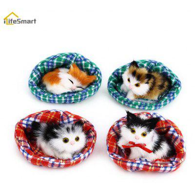 iLifeSmart 4pcs Lovely Simulation Cat