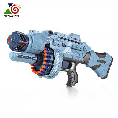 ZECONG TOYS 7076 Electric 20 Soft Bullet Gun Pistol Long Range Military Model Children Toy