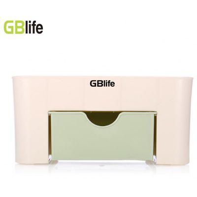Plastic Cosmetic Storage Box Container with Drawer