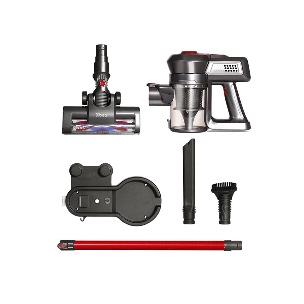 Dibea T6 Wireless Vacuum Cleaner 2 Rotary Cleaning Head  1 Rolling Brush