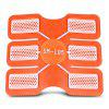 6pcs Trainer Pad Fitness Gear Accessories for Muscle Sculpting - TRANSPARENT