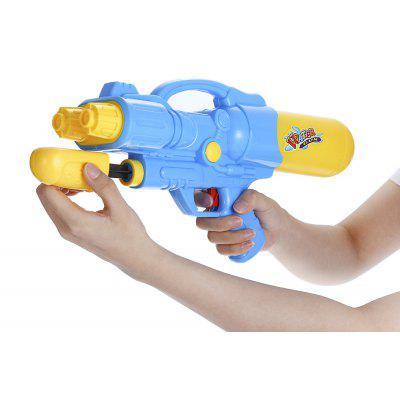 Dual Hole Nozzle Pull Water Gun Soaker Squirt Blaster ToyOutdoor Fun &amp; Sports<br>Dual Hole Nozzle Pull Water Gun Soaker Squirt Blaster Toy<br><br>Age Range: &gt; 8 years old<br>Material: Plastic<br>Package Contents: 1 x Water Gun<br>Package Size(L x W x H): 39.00 x 19.00 x 9.50 cm / 15.35 x 7.48 x 3.74 inches<br>Package weight: 0.1950 kg<br>Product weight: 0.1910 kg<br>Type: Water Gun
