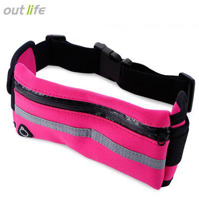 Buy TUTTI FRUTTI Outlife Water Resistant Running Waist Pack Marathon Belt Bag for $2.68 in GearBest store