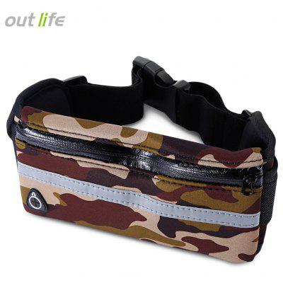 Outlife Water Resistant Running Waist Pack Marathon Belt Bag