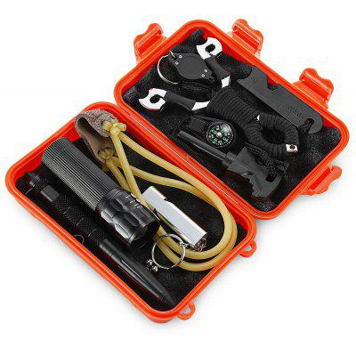 Outdoor Self-help SOS Emergency Survival Equipment Kit