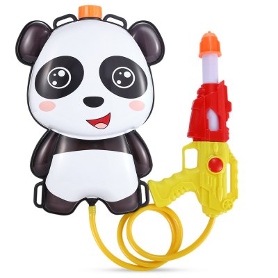 Cartoon 1L Backpack Pull Water Gun Soaker Squirt Blaster Toy