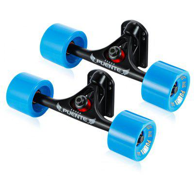 PUENTE 2pcs / Set Skateboard Truck with Hardware Accessory