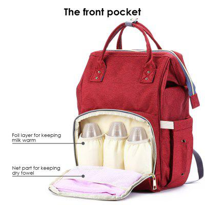 Multifunctional Water Resistant Diaper Bag for BabyToys &amp; Hobbies<br>Multifunctional Water Resistant Diaper Bag for Baby<br><br>Age Range: 2-4 Years,3-6 Years old,&gt; 3 years old<br>Package Contents: 1 x Diaper Bag<br>Package Size(L x W x H): 42.00 x 27.00 x 7.00 cm / 16.54 x 10.63 x 2.76 inches<br>Package weight: 0.6750 kg<br>Product weight: 0.6350 kg