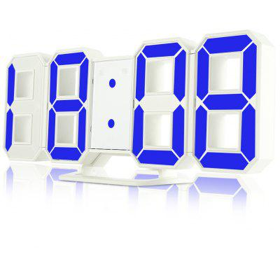 Relojes de alarma digitales 3D LED