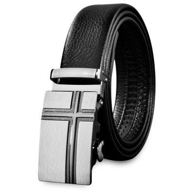 Men Stylish Casual Business Automatic Buckle Belt