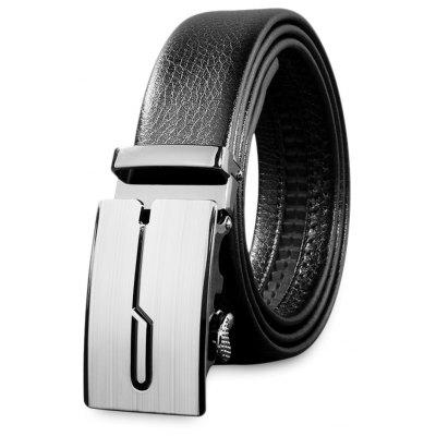 Automatic Alloy Buckle Men Waist Belt