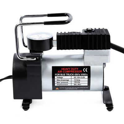 12V Car Electric Inflator Pump Single-cylinder Air Compressor