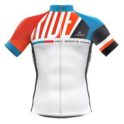 LAMEDA Men Short-sleeved Quick-drying Cycling Jersey