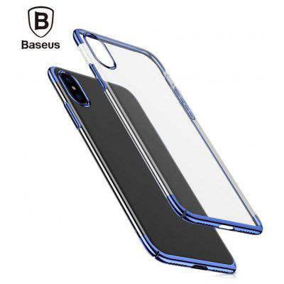 Baseus Glitter Case Ultra Slim PC Back Cover for iPhone X