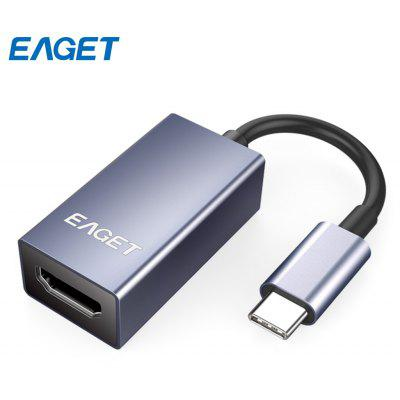 EAGET CH02 Type-C to HDMI Adapter HD Video Converter