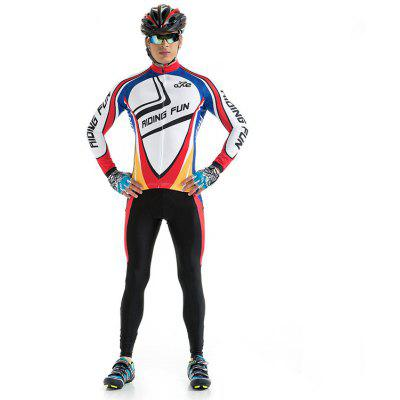 RIDING FUN Roupa Masculina Manga Comprida Anti-UV