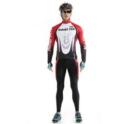 RIDING FUN Anti-UV Roupa Masculina de Manga Comprida