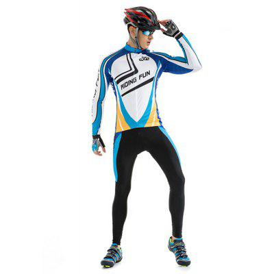 RIDING FUN Roupa Masculina Mangas Compridas Anti-UV