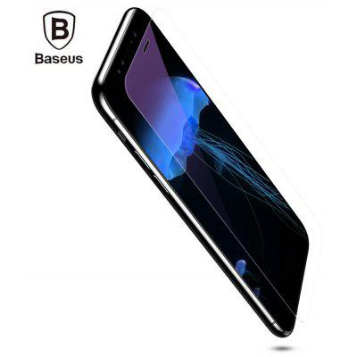 Baseus Tempered Glass Shatterproof Non Full Screen Anti-blue Protective Film for iPhone X 0.2mm