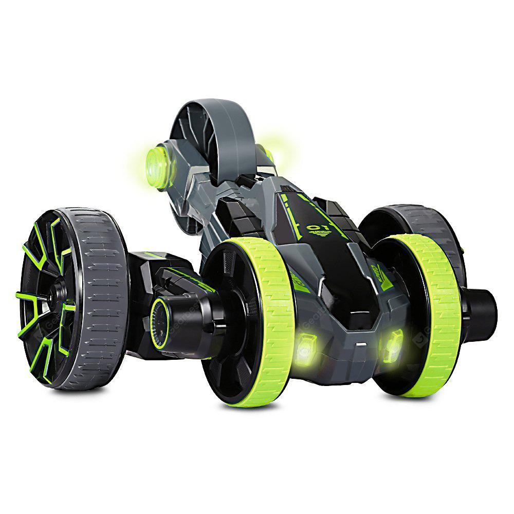 208008 5 Wheels Remote Control Race Stunt Car with LED Light