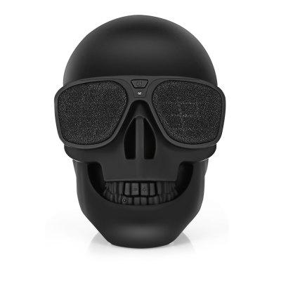 X18 Skull Bluetooth SpeakerSpeakers<br>X18 Skull Bluetooth Speaker<br><br>Model Number: X18<br>Package Contents: 1 x X18 Bluetooth Speaker, 1 x AUX Cable, 1 x USB Cable, 1 x Portable Strap<br>Package Size(L x W x H): 20.50 x 13.00 x 13.00 cm / 8.07 x 5.12 x 5.12 inches<br>Package weight: 0.6200 kg<br>Product Size(L x W x H): 13.50 x 12.50 x 10.00 cm / 5.31 x 4.92 x 3.94 inches<br>Product weight: 0.3250 kg