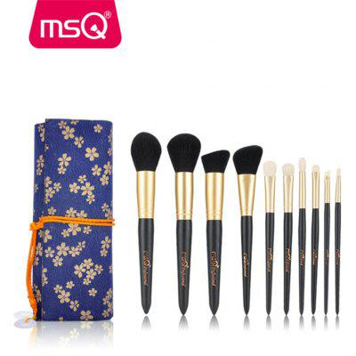 MSQ 10pcs Makeup Brushes